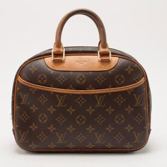 vintage Louis Vuitton Trouville In Monogram $499