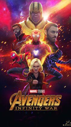 Creative Arts Avengers Poster iPhone Wallpaper - iPhone Wallpapers