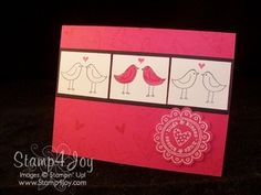 Thinking up Valentine card ideas for hubby!