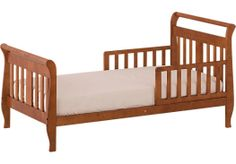 Shop for a Soom Soom Cognac Toddler Bed at Rooms To Go Kids. Find  that will look great in your home and complement the rest of your furniture.