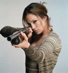 Jennifer Lopez as U.S. Deputy Marshal Karen Sisco, in the 1998 film ' Out of Sight. Description from f169bbs.com. I searched for this on bing.com/images