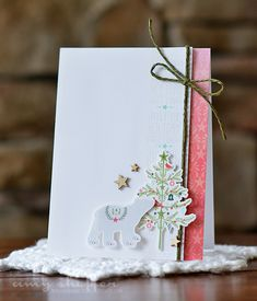Pickled Paper Designs: Introducing Make It Market Mini Kit: Holiday Folk #Christmas #card