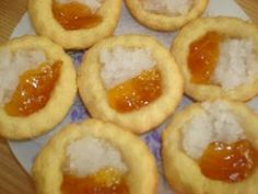 Hertzoggies recipe by Shahieda Jardien posted on 21 Jan 2017 . Recipe has a rating of by 1 members and the recipe belongs in the Biscuits & Pastries recipes category Pastry Recipes, Tart Recipes, My Recipes, Baking Recipes, Cookie Recipes, Dessert Recipes, Desserts, South African Dishes, South African Recipes
