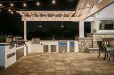 Southern California Outdoor Living Project of the Year Stamped Concrete, Concrete Patio, Belgard Pavers, San Diego Houses, Paving Stones, Outdoor Living, Outdoor Decor, Garage Storage, Patio Ideas