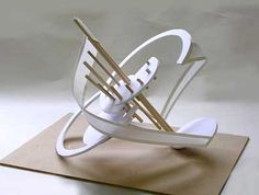 several great examples of sculptural student work Concept Models Architecture, Architecture Model Making, Architecture Design, Abstract Sculpture, Sculpture Art, 3d Design, Design Model, Cardboard Sculpture, Arch Model