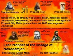 In order to understand what is  the real truth  as taught by the Prophet True Billy Meier, translate some of the Book TRUTH GOBLET passages  which post here for all to read and understand the words of this book that is TRUE Koran without lies and without forgeries. The Spiritual Teachings of 7 (Seven) True Prophets: