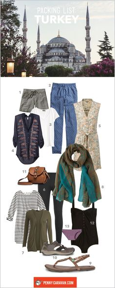 What to Wear in Turkey