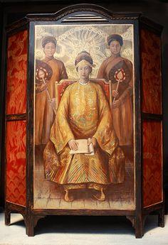 Craig Thomas Gallery  Saigon Portrait of Empress Nam Phuong Hoang Hau 2