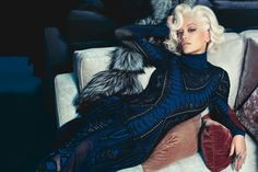 Roberto Cavalli F/W 2014 | Rita Ora photographed by Francesco Carrozzini