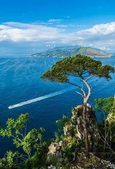 Villa Lysis (Mario Coppola) Capri Island, Isle Of Capri, Exercises, Golf Courses, Mario, Villa, Beach, Water, Places