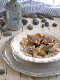 Mmmmm clams & white beans!