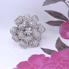 #ring #flower #leopizzo
