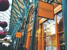 Places To Visit: LONDON, Covent Garden  L'OCCITANE