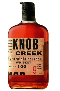 An icon on any liquor shelf, Knob Creek is a fantastic bourbon to enjoy on it own or mix up in a fantastic cocktail.