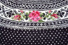 Ravelry: 19603 Setesdal Sweater with Embroidered Flower pattern by Ane Sæthre