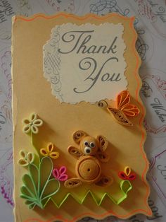 Quilling, Quilled flowers, Paper craft, Greeting cards, Quills