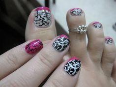 Damask nails!