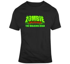 The Walking Dead Zombie Invasion T-Shirt Zombie T Shirt, Dead Zombie, T Shirts With Sayings, The Walking Dead, Suits, Tees, Mens Tops, Fashion, Moda