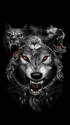 35 Ideas For Tattoo Wolf Desing Werewolves Tier Wallpaper, Wolf Wallpaper, Wolf Tattoo Design, Wolf Photos, Wolf Pictures, Fantasy Wolf, Dark Fantasy Art, Wolf Tattoos, Angry Wolf
