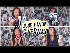 June Favorites + INTERNATIONAL GIVEAWAY (OPEN)!! ♡   Livia McQueen - YouTube