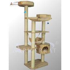 "77"" Solid Wood Cat Tree by Armarkat - $119.00 + $38.49 shipping at Amazon.com <43 x 42 x 77; 67.3lbs>"