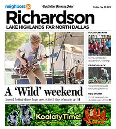 05/25: Two-page photo spread captures energy, fun of the 20th annual Wildflower Festival