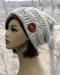 Samantha Slouchy Beanie Hat Crochet Hat Women Autumn Accessories Winter Wonderland Party Cloche Hat 1920s Brim Winter Hat Red Hat Ladies