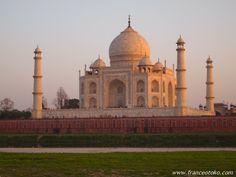 タージマハル Taj Mahal Back