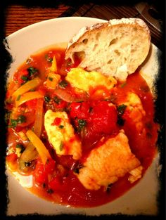 Basque Fish Stew @gadgetgirl_ca #SundaySupper