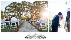 Lovely wedding at sunset!