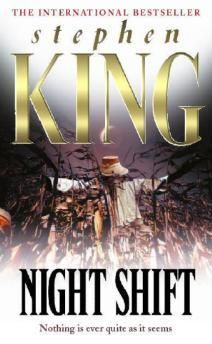 """Night Shift by Stephen King...lots of great short stories like  """"Children of the Corn,"""" """"The Lawnmower Man,"""" """"Graveyard Shift,"""" """"The Mangler,"""" and """"Sometimes They Come Back."""""""
