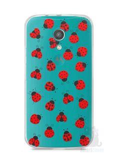 Capa Moto G2 Joaninhas #1 - SmartCases - Acessórios para celulares e tablets :)