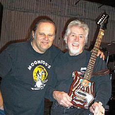 Walter Trout and John Mayall.