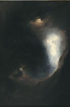Vision, 1895 by Karl Wilhelm Diefenbach Painting Inspiration, Art Inspo, Dark Paintings, Dark Drawings, Esoteric Art, Macabre Art, Art Et Illustration, Christian Art, Aesthetic Art