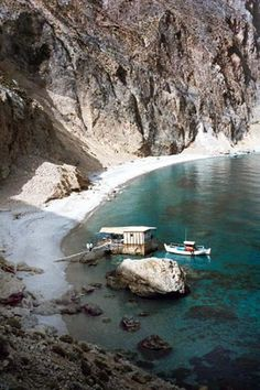 Sweetwater beach, Loutro. One of my favourite places on earth. Heaven.