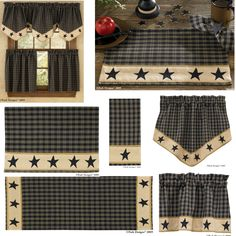 Park Designs Sturbridge Border Star Curtains And Collection From Jakeu0027s  Country Trading Post