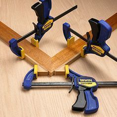 Top notch joinery doesn't mean anything if you don't get a good clamp-up. Try these tips to accomplish just that. #woodworkingtools