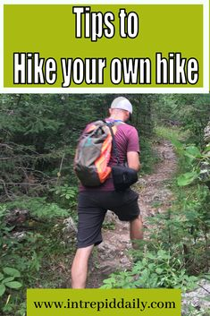 Hiking isn't a competitive sport, and you shouldn't feel like you have to keep anyone else's pace. You should hike your own hike. That's true in hiking and in life. Backpack Through Europe, Social Contract, Hiking Training, Go Your Own Way, Vacation Days, Do What You Want, Quitting Your Job, Life Rules, Life Is A Journey