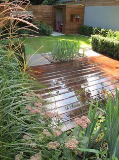 Highgate Family Garden — Lucy Willcox Garden Design Small Courtyard Gardens, Small Courtyards, Back Gardens, Small Gardens, Outdoor Gardens, Narrow Garden, Forest Garden, Family Garden, Garden Cottage