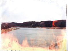 matthew brandt   c-print soaked in lake water