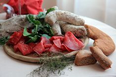 Un invitante piatto freddo a base di Bresaola (foto R. Moiola)