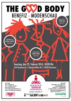 """The Good Body"" Charity Fashion Show/Benefiz-Modenschau - One Billion Rising For Justice"