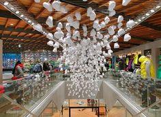 Nike Tokyo store interior