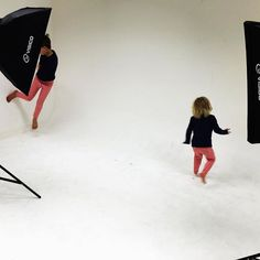 A photoshoot with our free-spirited kids...
