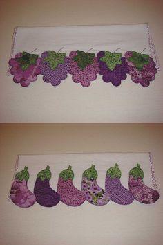 panos de prato | uva - berinjela | pano & arte | Flickr
