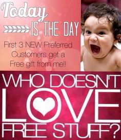 Get a free Plexus gift with a preferred customer purchase!