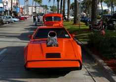 Bricklin SV-1.Not sure if there's an AMC 360 V8 under that blower. If there is, that car must be a monster! Art of the Automobile car show in Daytona Beach, 5/5/2012. Photo by Luis — The Motor Bookstore.