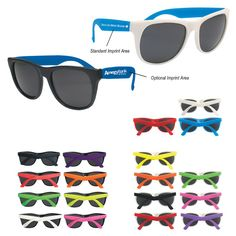 ee57a14f62e Rubberized sunglasses feature UV 400 lenses that provide 100% UVA and UVB  protection. These
