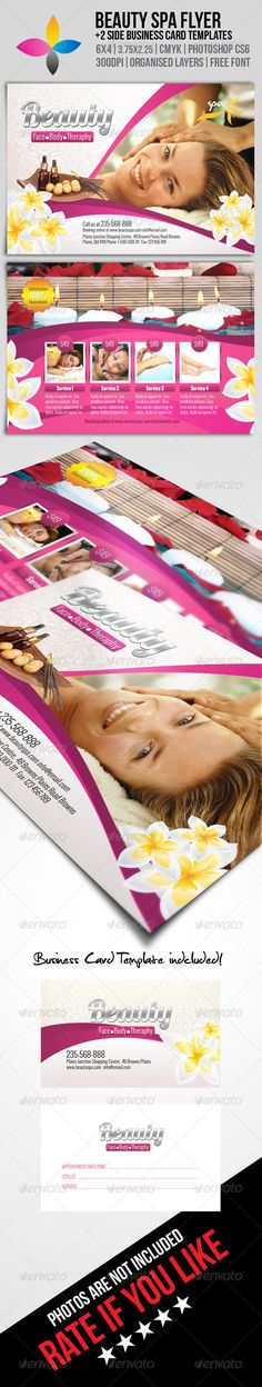 Beauty Spa Flyer PSD Template| Buy and Download: http://graphicriver.net/item/beauty-spa-flyer/8241482?WT.ac=category_thumb&WT.z_author=inddesigner&ref=ksioks