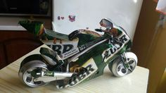 Tin can motorcycle handmade by (faisal rizal )